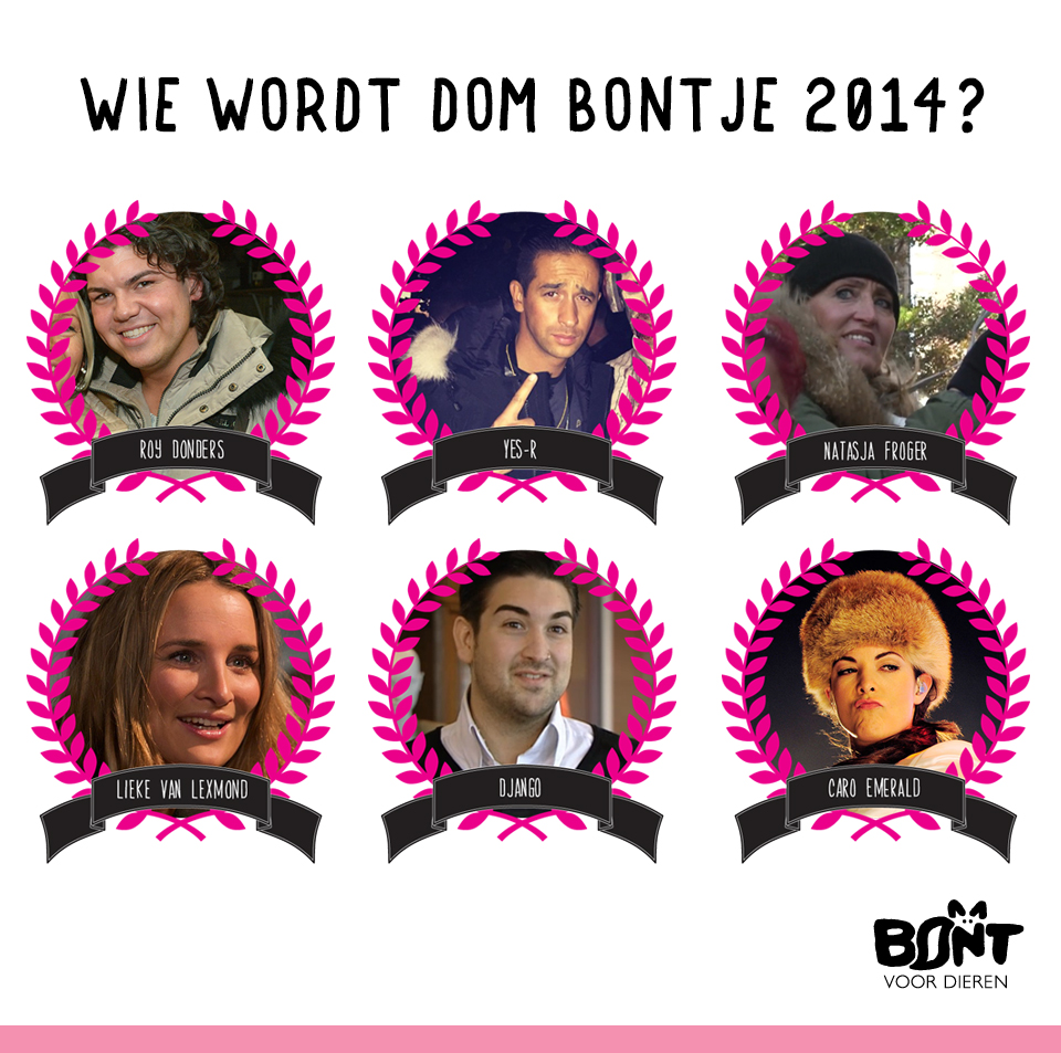 Dom Bontje verkiezing 2014